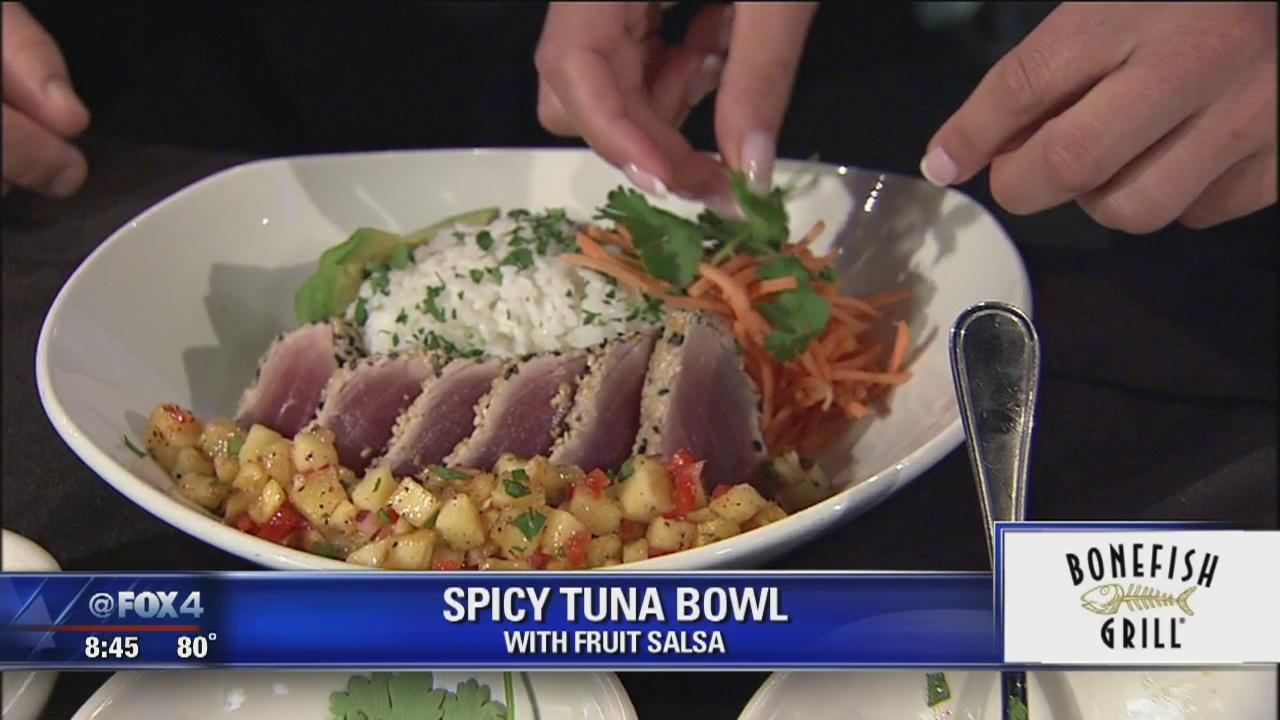 Spicy Tuna Bowl Fox 4 News Dallas Fort Worth