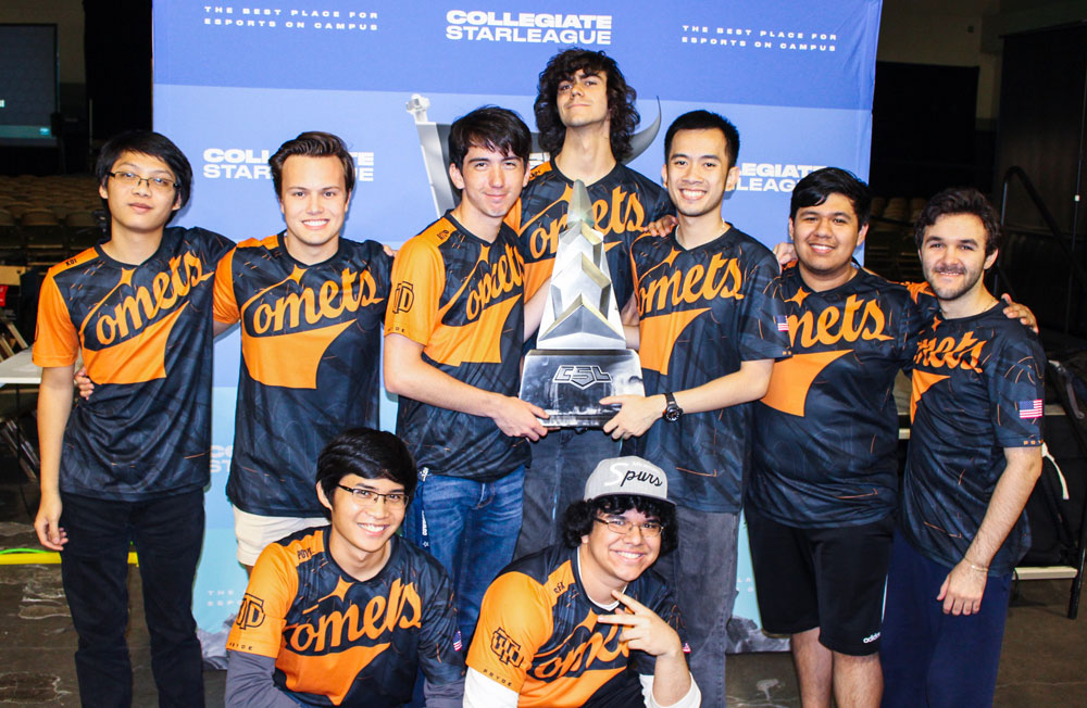 University of Texas at Dallas wins first-ever athletic championship with esports team