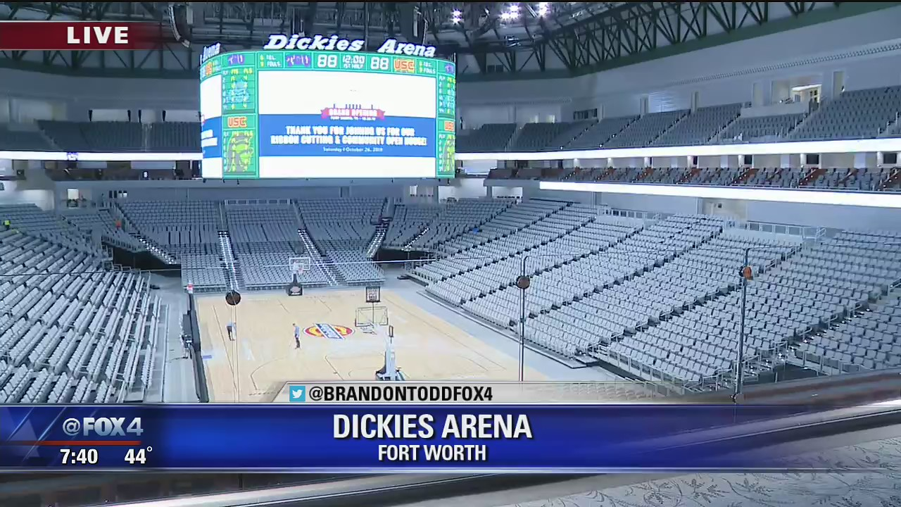 New Dickies Arena Opening This Weekend In Fort Worth Fox
