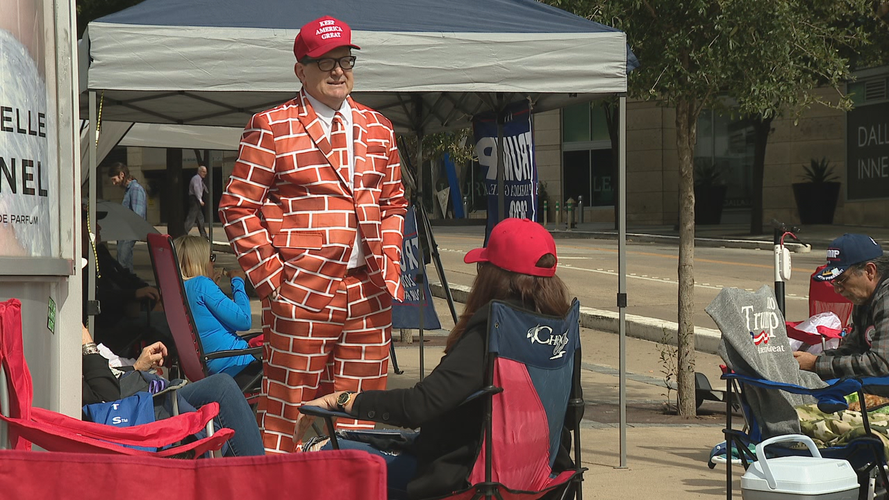 President Trump supporters camp out ahead of Thursday's ... on rally house philadelphia, rally house independence, rally house michigan, rally house kansas city,