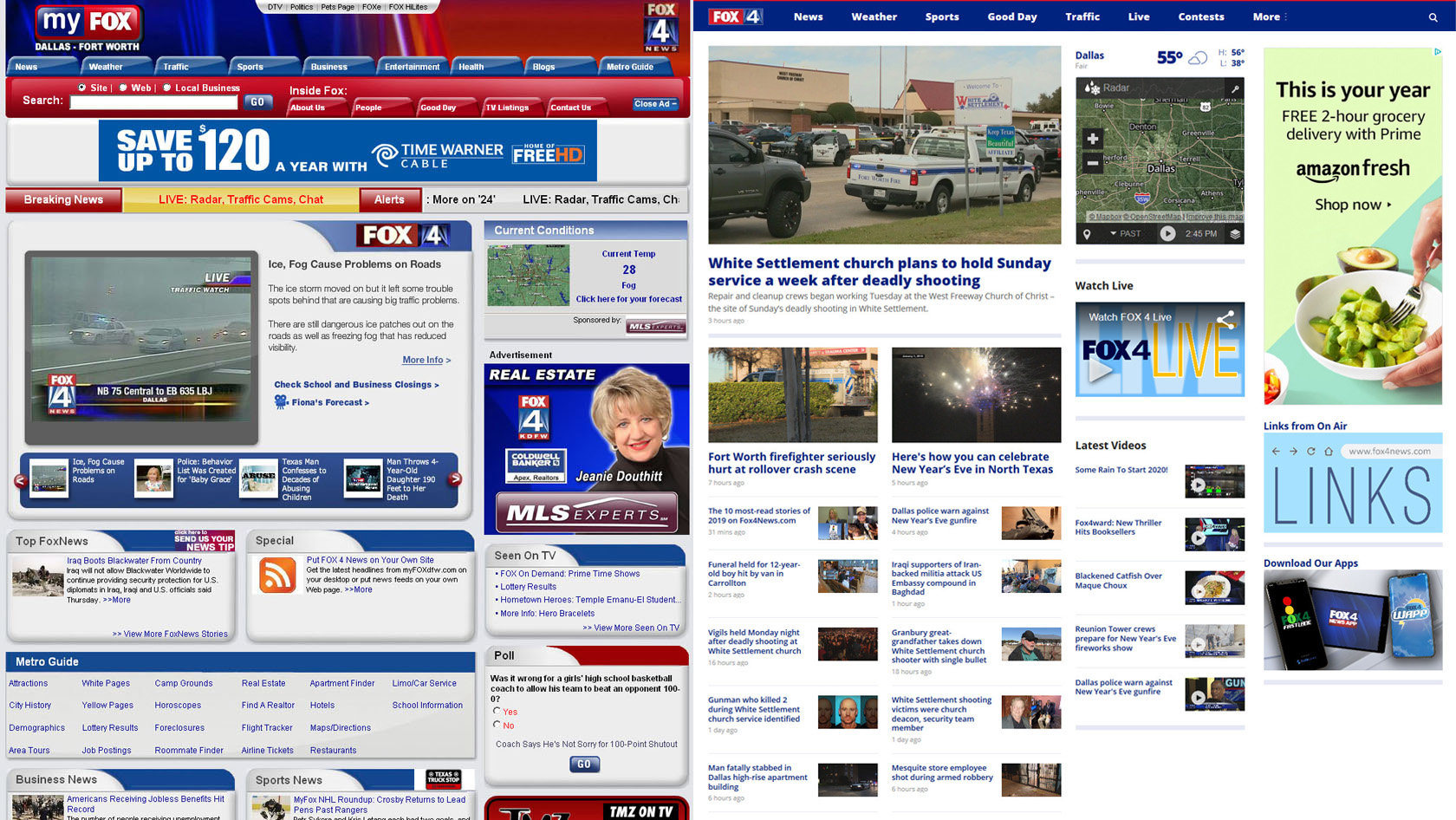 FOX4's most-read website stories of the 2010s