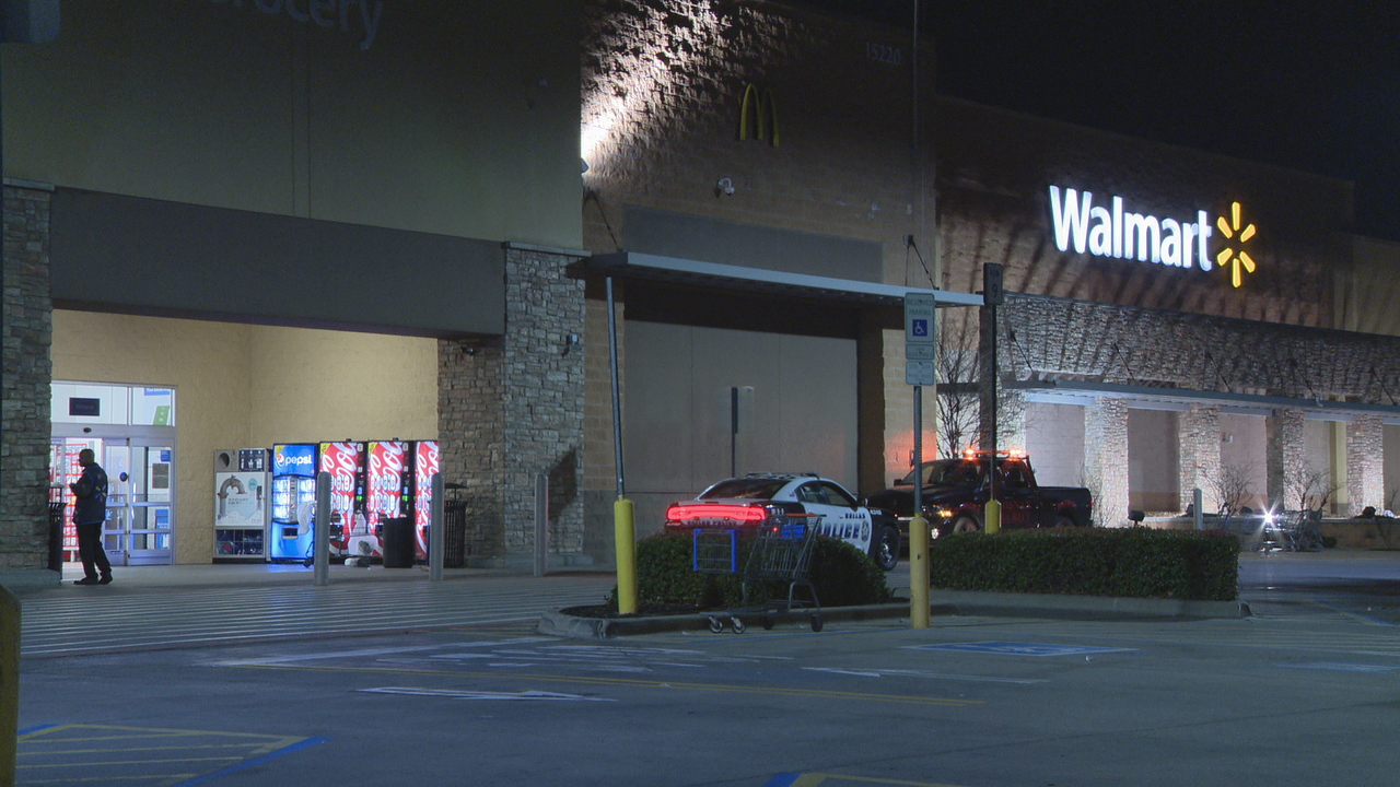 Woman shot and killed after walking out of Dallas Walmart